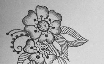 flower Petals long tattoo