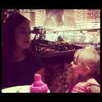 In Vegas with my goddaughter Sophia.