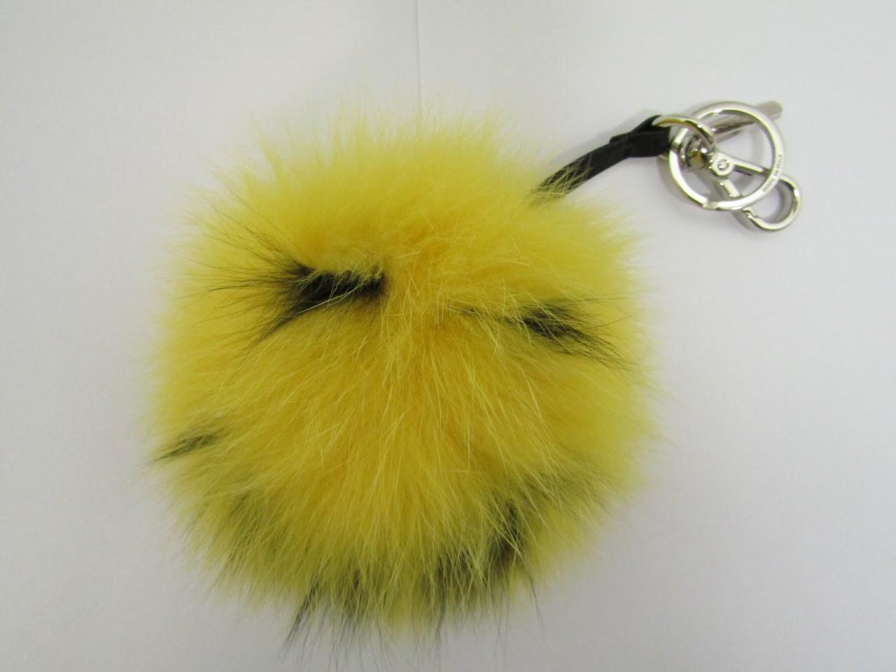 Fendi Fur Bag Charm