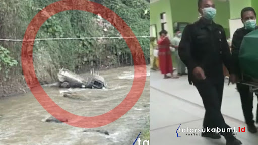 Supir L300 yang Terjun ke Sungai di Ciambar Sukabumi Akhirnya Hembuskan Nafas Terakhir