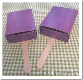 lollipop favour boxes.