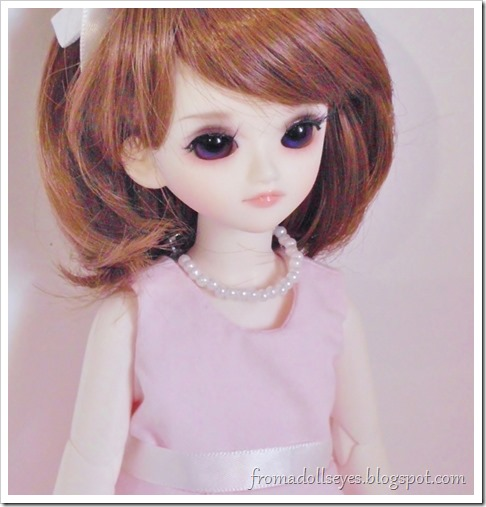 A pretty yosd sized ball jointed doll, she was purchased on sale.  Her face up was also included for free as part of the event.