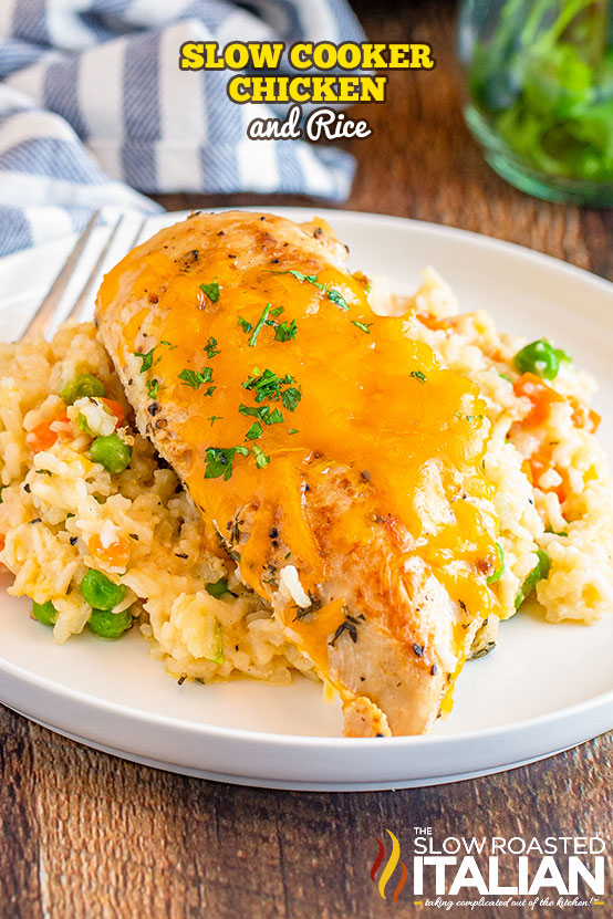 Slow Cooker Chicken And Rice Video