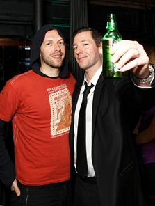 Chris Martin, Ed Burns