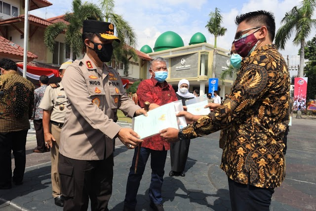 *Polrestabes Surabaya Musnahkan 39 Kg Sabu dari 120 Orang Tersangka*