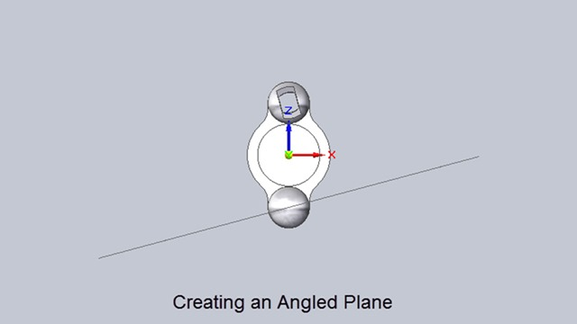 Angular Plane in Solid Edge (Time 0_00_09;06)
