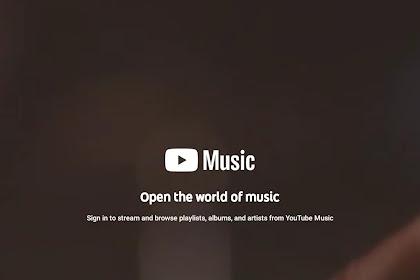 Aplikasi Streaming Musik Youtube Music Tersedia di Indonesia, Download dan Coba Sekarang