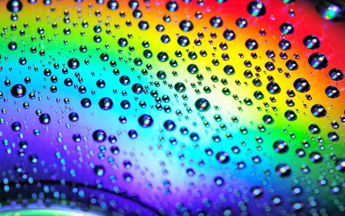 Water Drops on the Rainbow by FatChuang1
