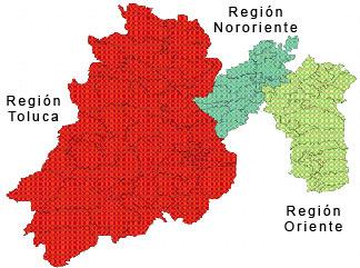 mapa de mexico estado