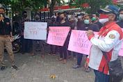 Diduga Lelang Tidak Transparan, Apellti dan GKNI Demo Kanwil DJKN