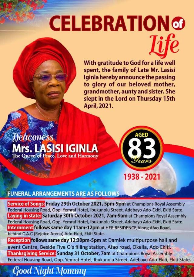 Prophet Joshua Iginla Set To Bury Mother ~Omonaijablog