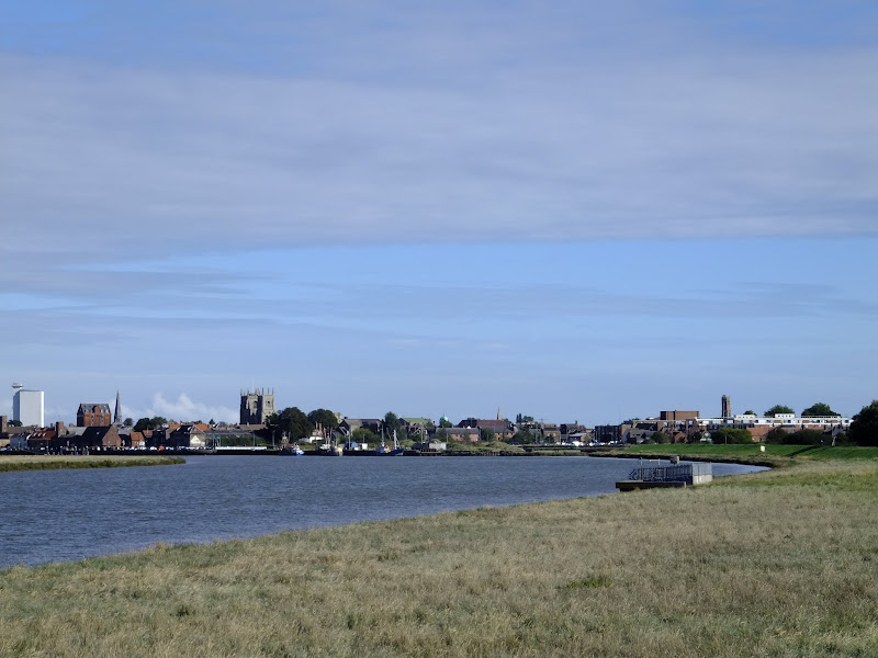 Kings Lynn on the banks of the Ouse