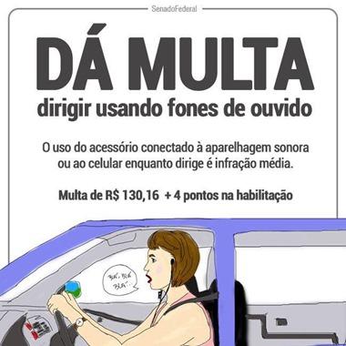 dirigir com celular