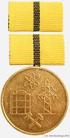 259 Bergbau Energie medailles
