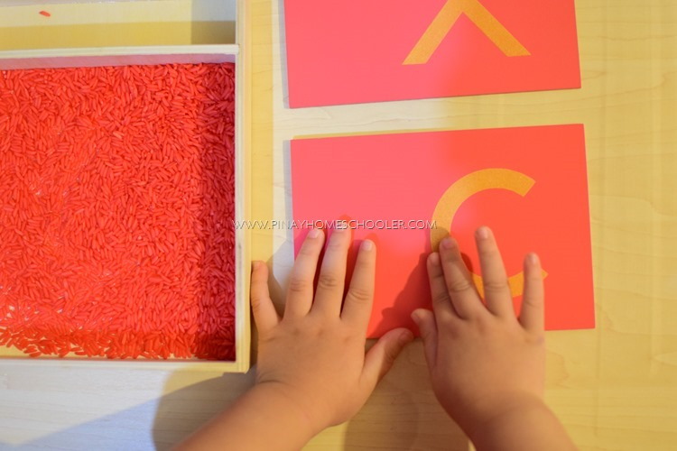 Learn to Write Letters for Preschoolers: FEELING THE LETTERS