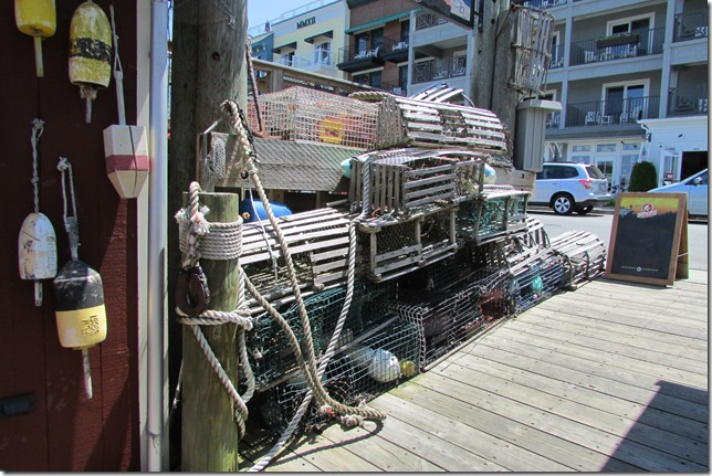 Lobster Traps and Trap Markers