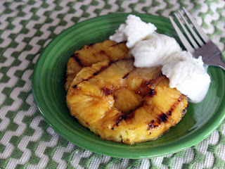 Nunu's Danc'n Orange Glazed & Grilled Pineapple Recipe