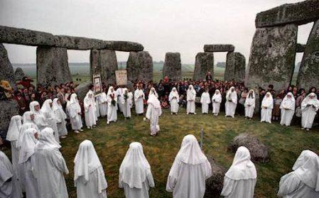 Druids Stonehenge, Celtic And Druids