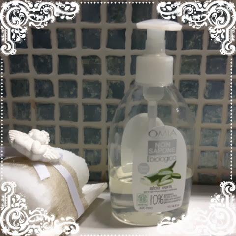 Appunti e spunti non sapone mani viso all 39 aloe della omia laboratories - Omia bagno seta olio di jojoba inci ...