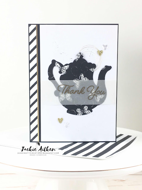 Stampin' Up!, Artisan Design Team 2019, Tea Together, Tea Time Framelits, Botanical Butterfly DSP, Stampin' Blends, Sale-a-Bration 2019, Occasions Catalogu