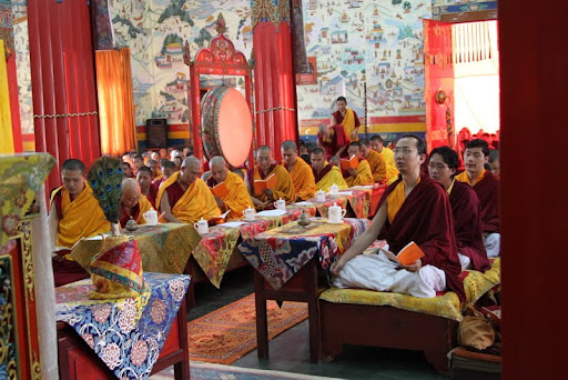During the Wangya Norbu Tangwa initations