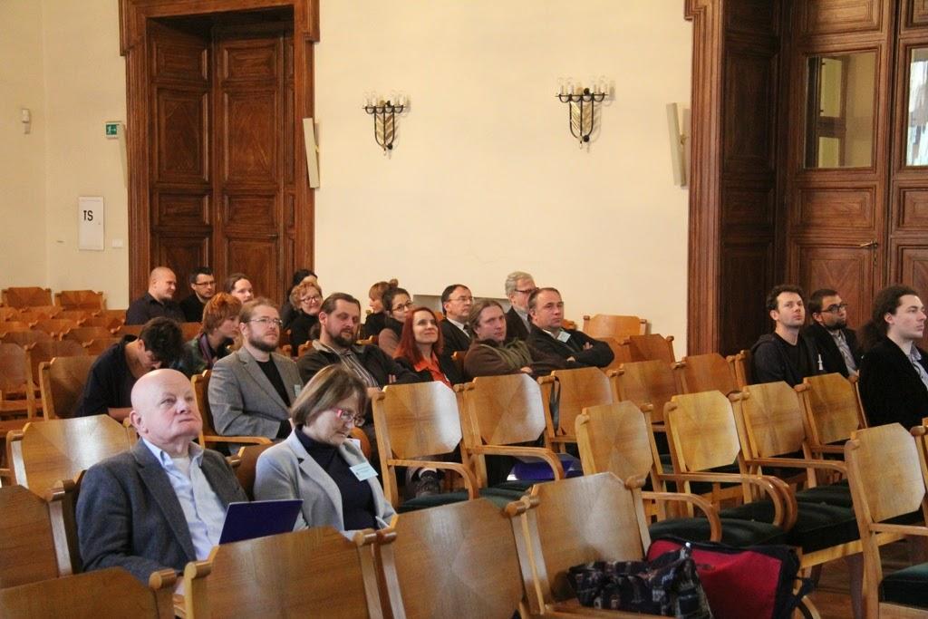 Konferencja Metody geofizyczne w archeologii polskiej (fot. J. Karmowski, K. Kiersnowski) - geof%2B%252880%2529.JPG