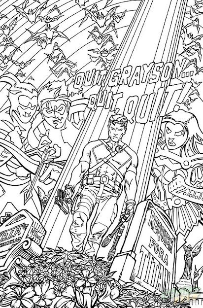 Dc Ics January  Coloring Book Variants Plete  Ic Books And  Cats