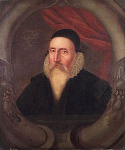 A 16th Century Portrait Of John Dee Artist Unknown, John Dee