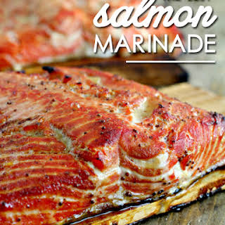 The Best Salmon Marinade.