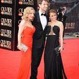 OIC - ENTSIMAGES.COM - Sophie Linder-Lee, Jeremy Taylor and Emma Hatton at the The Olivier Awards in London 12th April 2015  Photo Mobis Photos/OIC 0203 174 1069