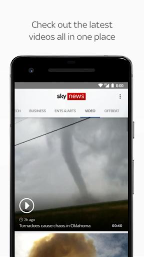 Sky News: Breaking, UK, & World screenshot 6