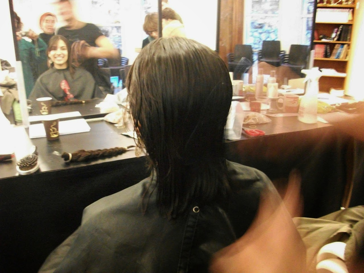 Donating hair for cancer patients 2014  - 1941365_539677932815171_936682636_o.jpg