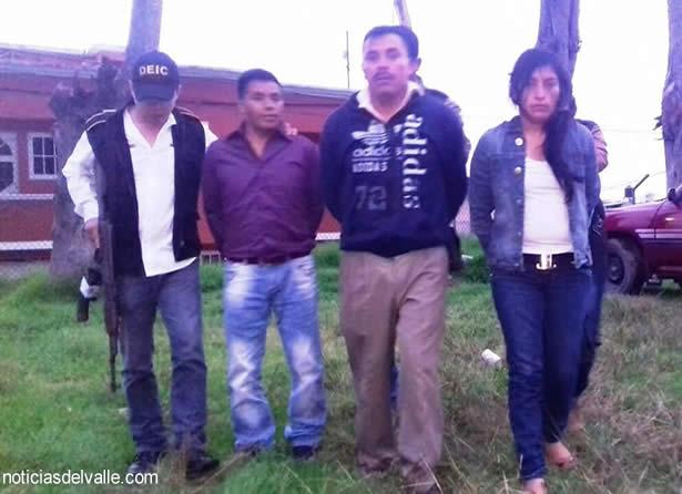 Presuntos extorsionistas capturados