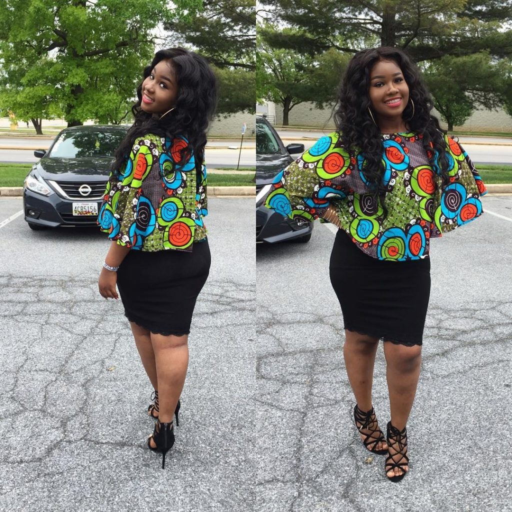 High waisted Ankara skirts this season in south Africa 5