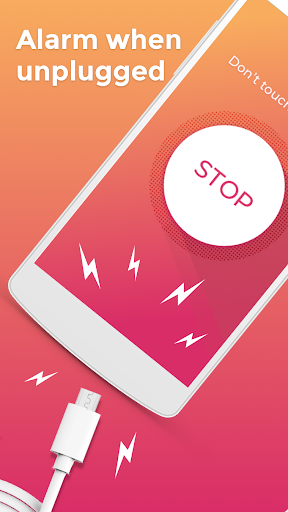 Don't touch my phone: Motion alarm app - screenshot