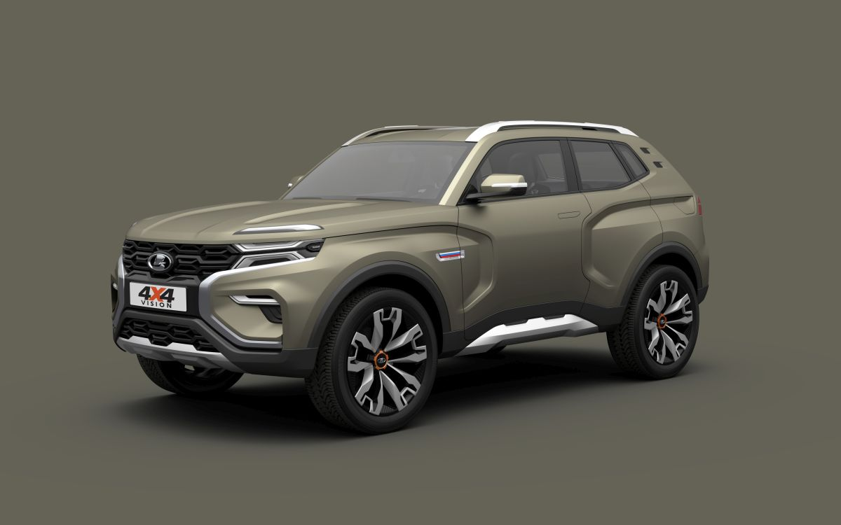 B And B Automotive >> Lada - 4x4 Vision Concept