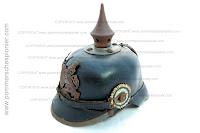 Bavarian model 1915 helmet