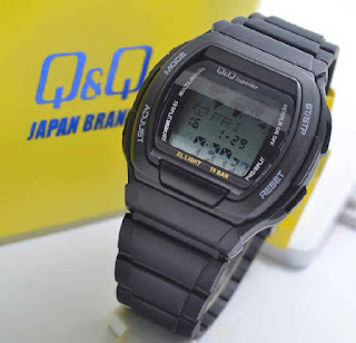 jam tangan QQ data MMW3P101Y full black