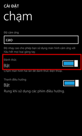 Cách bật chế độ chạm 2 lần để mở khóa cho Android, Windows Phone + Hình 4