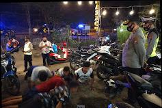 Polsek Jetis Dapati 42 Pengunjung Tak Bermasker