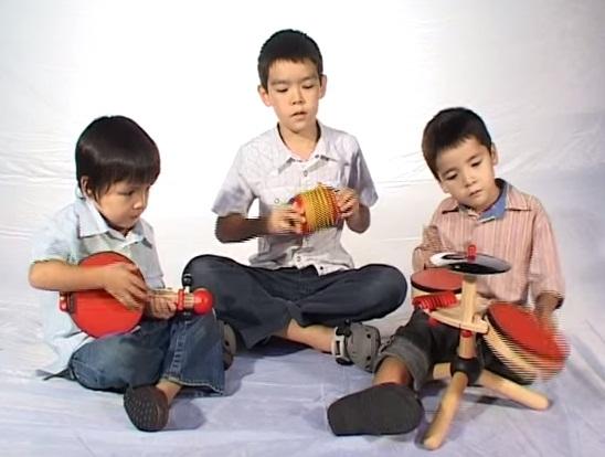 Nhạc cụ Đàn Băng-giô đồ chơi bằng gỗ PlanToys 6411 Banjo