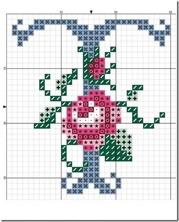 abc punto cruz letras con rosas  (19)