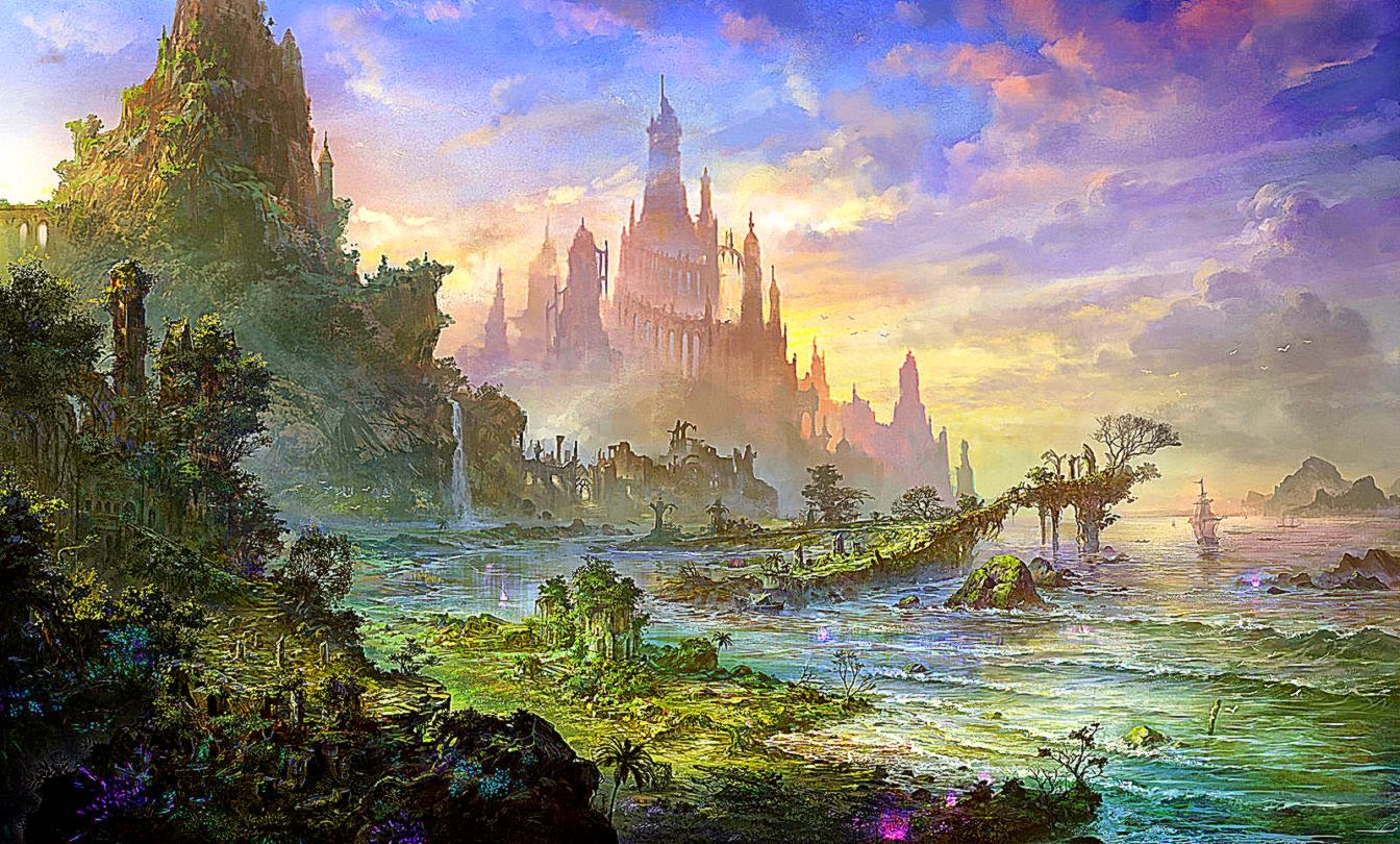 landscape fantasy art | best free hd wallpaper