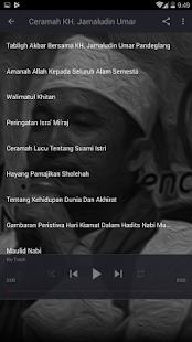 Ceramah KH. Jamaludin Umar Screenshot