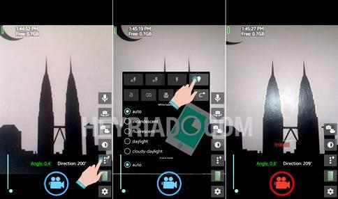 Cara menyalakan flash dikala merekam video Cara Menyalakan Flash Saat Merekam Video di Android