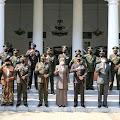 Bersama Forkopimda Dandim 0619/PWK Laksanakan Upacara Virtual HUT TNI Ke-76 Di Pendopo Pemkab Purwakarta
