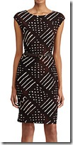Lauren Ralph Lauren Geometric Print Dress