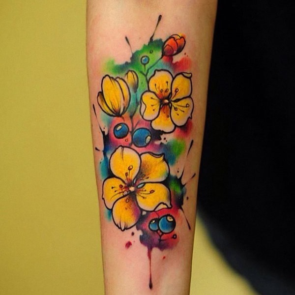 este_brilhante_aquarela_floral_tattoo