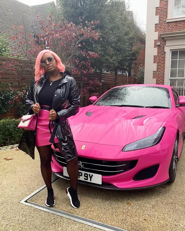 """See Leave Me ooh!  """"WHY HOP ON BEEF WHEN I CAN HOP IN MY FERRARI?"""" – DJ CUPPY BRAGS"""