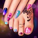 Manicure and Pedicure Games: Nail Art Designs icon